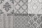 1525024-85581   Cir Biarritz Inserto S/6 Aloha Cendre 10х10 см (CIR, Италия)