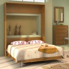 У-К04. Кровать подъемная 1600 мм (вертикальная)   2216x1741x495 мм  ВxШxГ