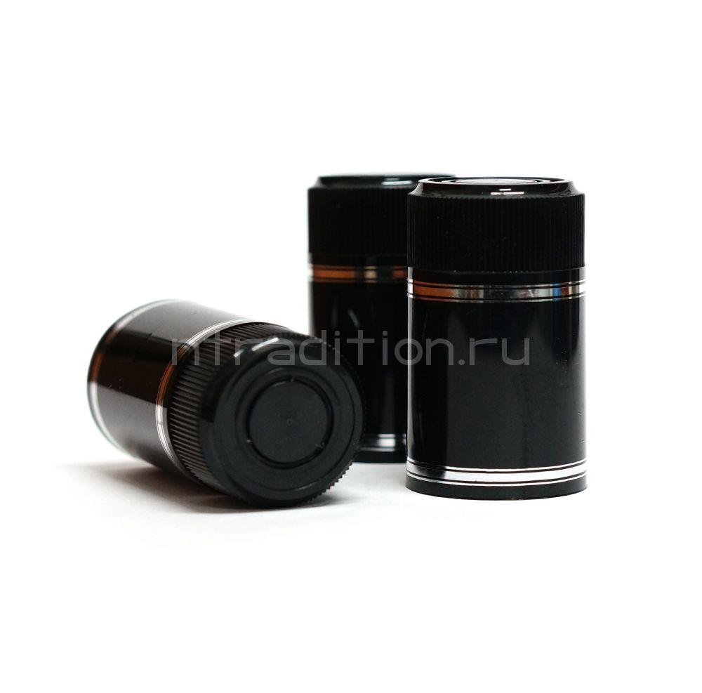 Колпачок с дозатором Гуала - черный 59 мм (10 шт.)