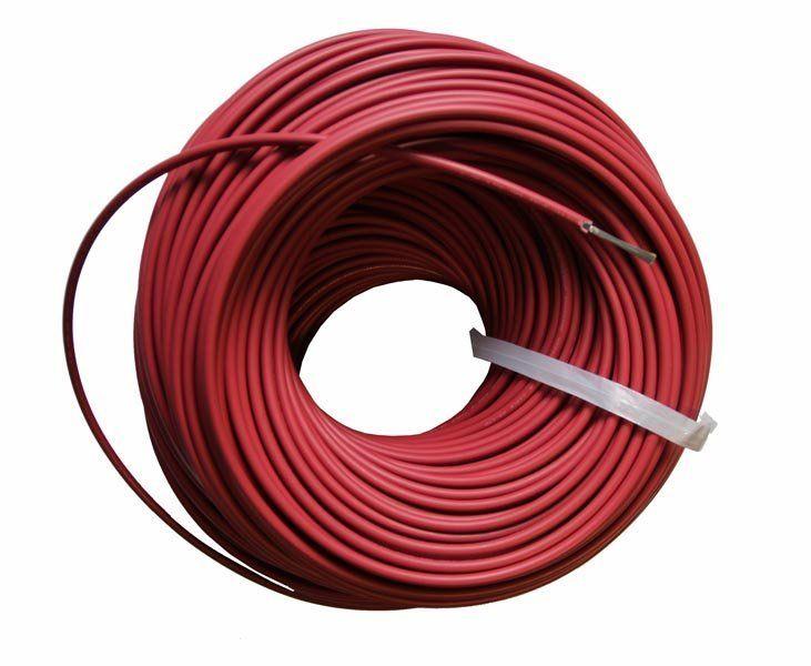 Кабель для С.Б. красный 4 мм²
