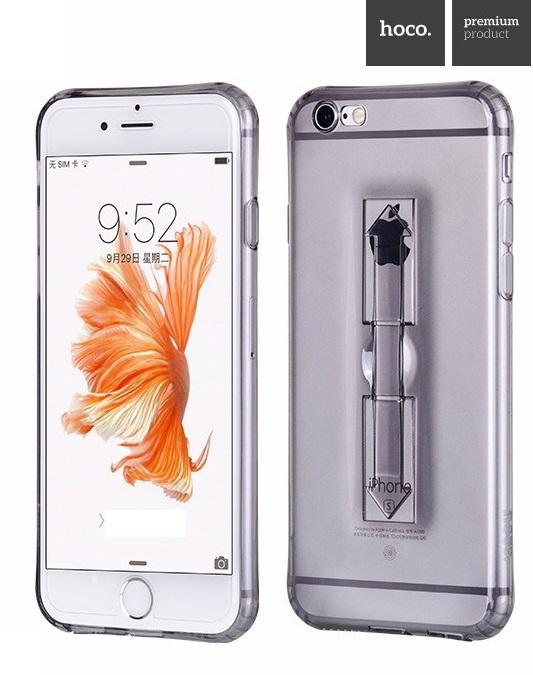 Чехол силиконовый HOCO для iPhone 7/8 FINGER HOLDER (Темный)