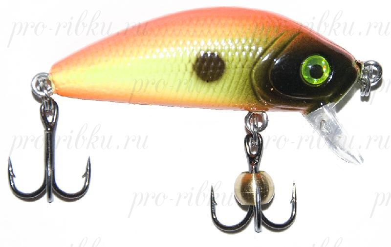 "Воблер PROFILUX ""Real Minnow 44"", S, 44мм, 3,8гр, 0,4-1,8 м, №10"