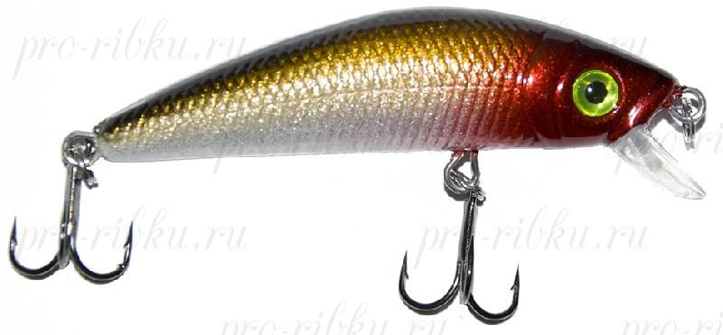 "Воблер PROFILUX ""Real Minnow 65"", S, 65мм, 8,1гр, 0,3-1,5 м, № 2"