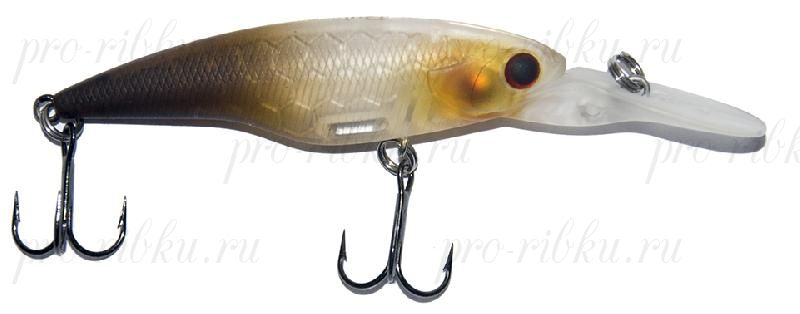 Воблер RUBICON WALKER MINNOW SP, 60mm, 5.3gr, depth 0-1.5m, F1305