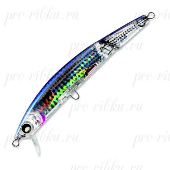 Воблер Yo-Zuri Crystal 3D Minnow Jointed (F) 130mm F1051-HMT