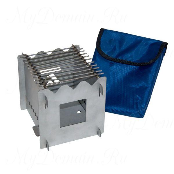 Мини печь складная в сумке, нерж. ст. 0,8кг.