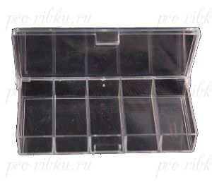 Коробка ТРИ КИТА СВ-01 5 отделений прозрачная
