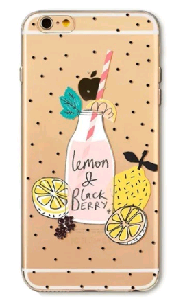 Чехол для iPhone 7/8 (Лимонад)