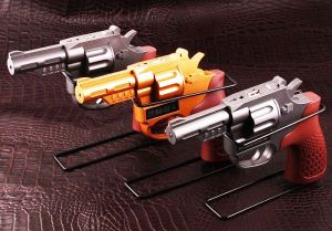 Колонка-мп3 плеер в виде пистолета