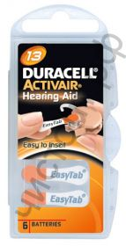 Duracell DA13 /6BL ActiveAir Nugget Box ZA13