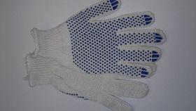 перчатки х/б 7кл Мастер 70г с ПВХ 10/150