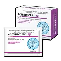 АСЕПТИСОРБ-ДТ (1г.) - сорбент для лечения гнойно-некротических ран с влажным некрозом различной этиологии.