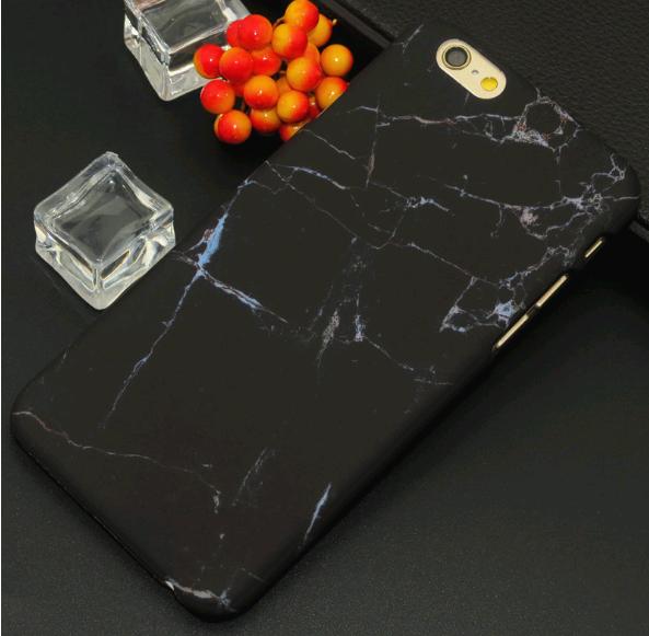 Чехол для iPhone 7/8 камень (Черный)