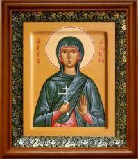 Антонина Никейская (19х22), светлый киот