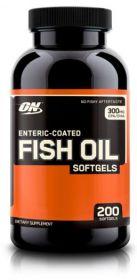 Optimum Nutrition Enteric Coated Fish Oil (200 капсул)
