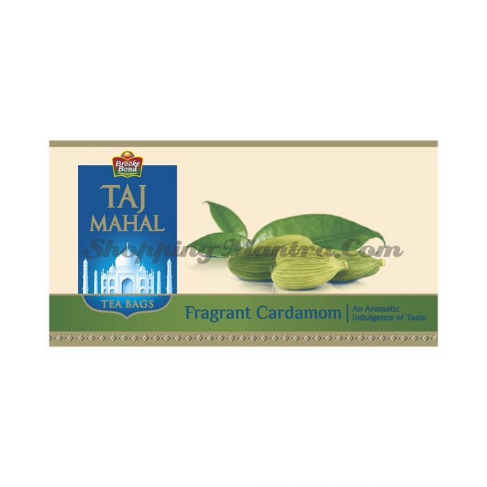 Кардамон чай Тадж Махал в пакетиках | Brooke Bond Taj Mahal Fragrant Cardamom