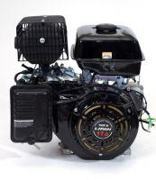 Lifan 192F D25 четырехтактный бензиновый двигатель в стандартной комплектации, мощностью 17 л. с., и диаметром выходного вала 25 мм.