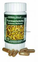 Турмерик (куркума) в капсулах Хербал Хилс | Herbal Hills Turmerichills Capsules
