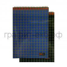 Блокнот А4 60л.кл.Альт ULTIMAT BASICS Шотландка спираль 3-60-474Д
