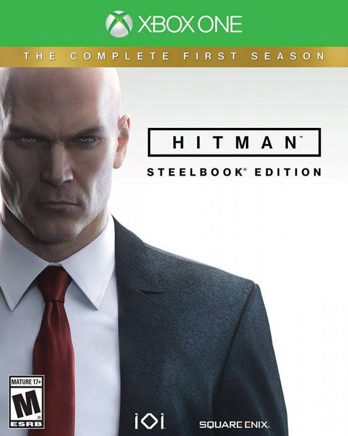 Игра Hitman Steelbook Edition (Xbox One, русские субтитры)