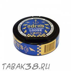 Табак жевательный Chew Bags Odens Lakrits Loose (рассыпчатый) 40 г