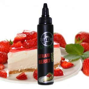 Е-жидкость Duty Free, CHEESE CAKE STRAWBERRY, 70 мл