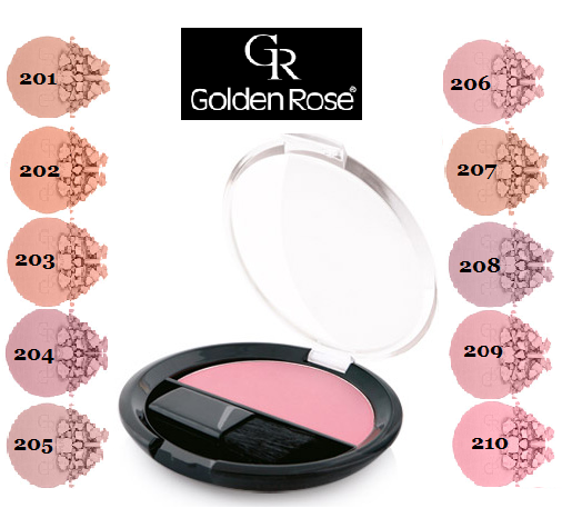 Румяна Golden Rose Silky Touch