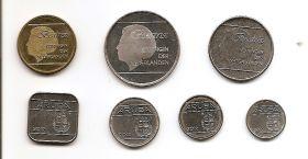 Набор монет Аруба 2006-2012 (8 монет)
