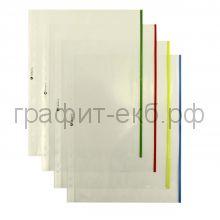 Вкладыш пластиковый А4 цв.край А4 SP0064/013Bkan2