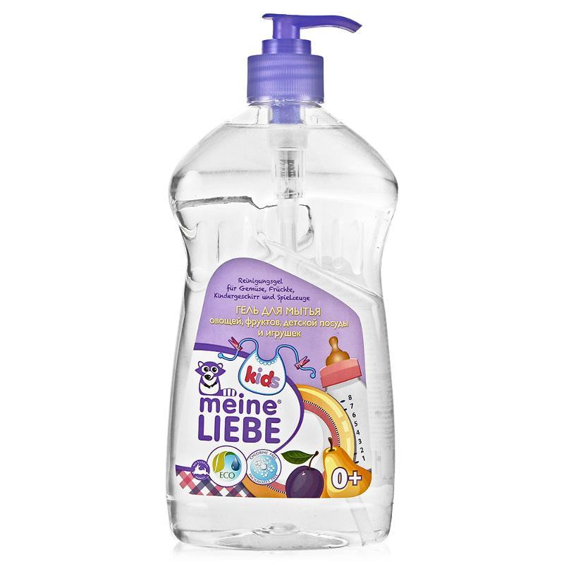 MEINE LIEBE Гель для мытья овощей, фруктов, детской посуды и игрушек, 485 мл.