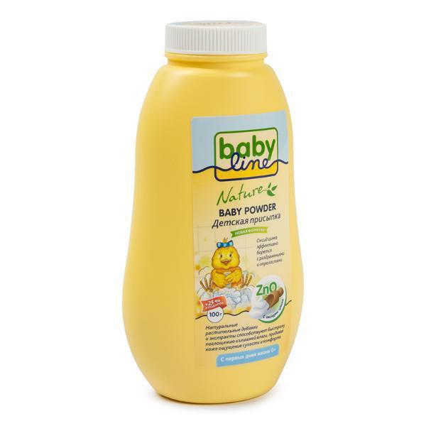 BABYLINE NATURE Присыпка для малышей c цинком, 125 гр.