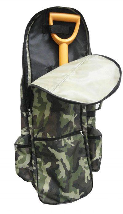 Рюкзак кладоискателя закрытый