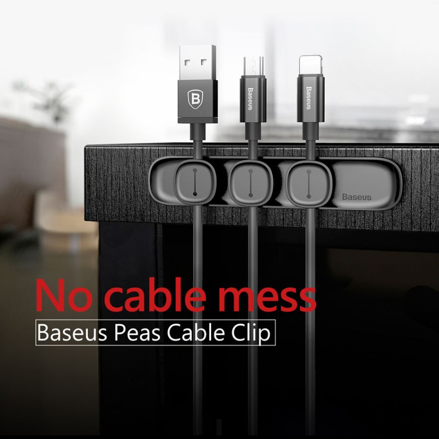 Держатель для кабелей Base us