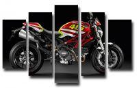 Модульная картина Ducati