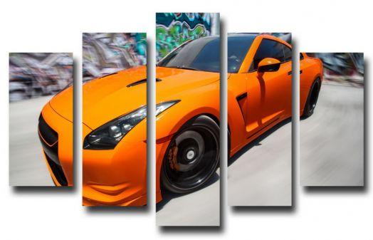 Модульная картина  Nissan