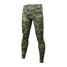 Компрессионные штаны Nike Pro Hypercool Digital Camo коричневые