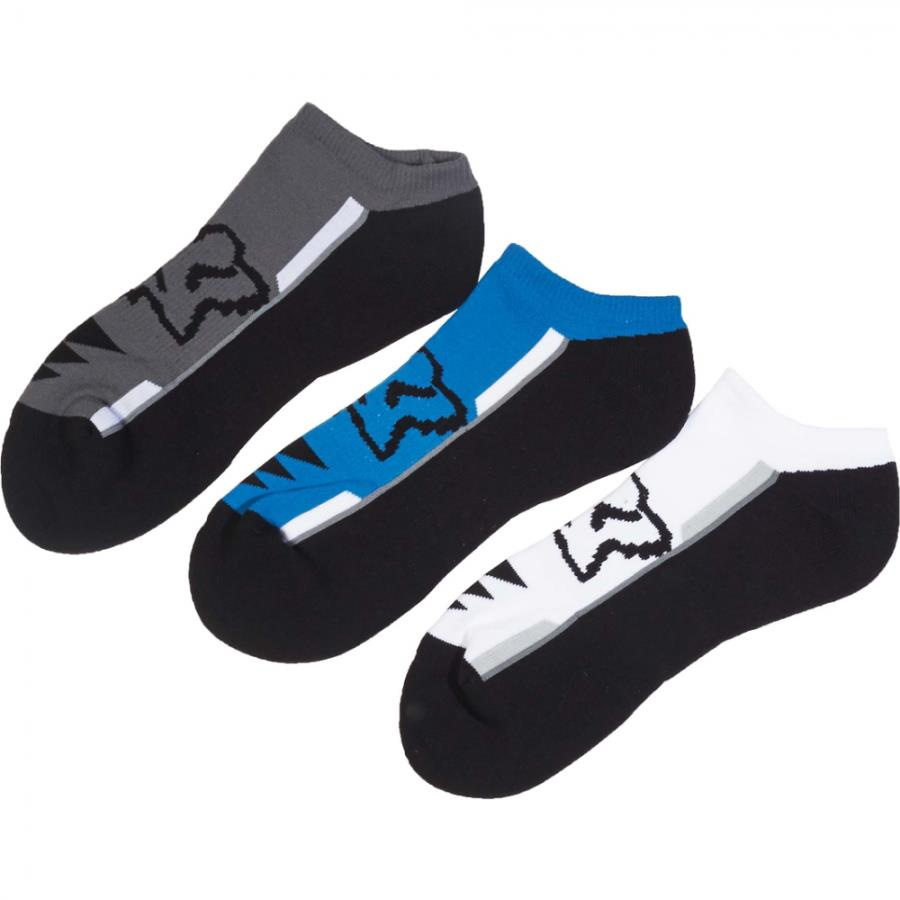 Fox - Perf No Show Socks 3 Pack Maui носки, синие