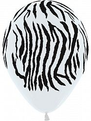 Зебра латексные шары с гелием
