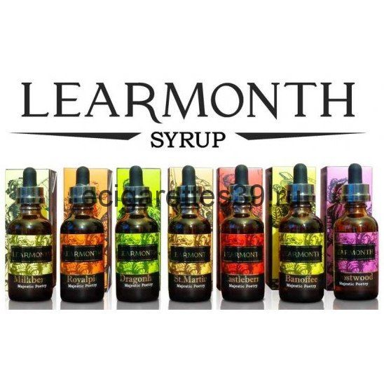 Жидкость LEARMONTH 50 мл. (никотин: 0 мг.)
