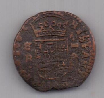 16 мараведи 1662 г. Испания