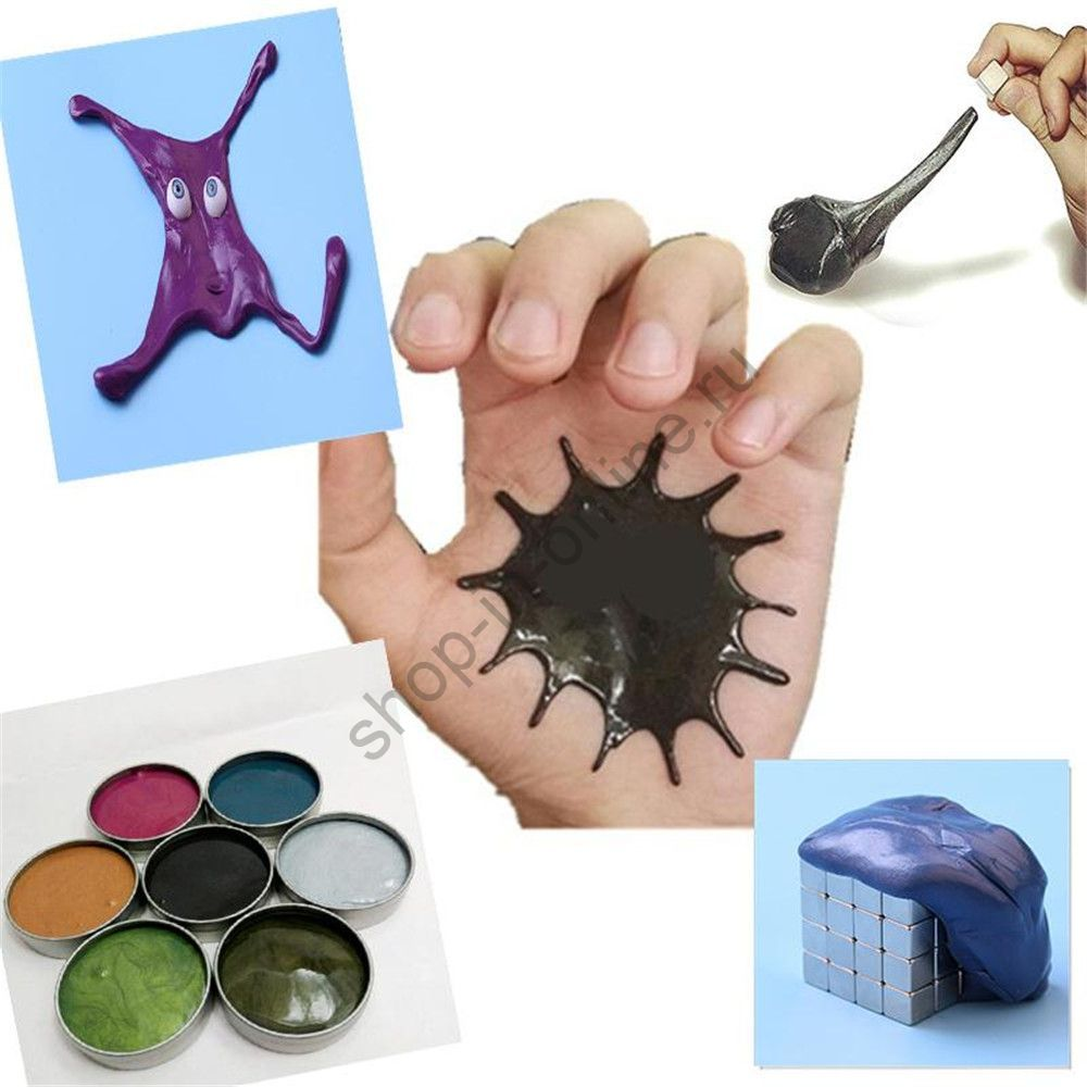 Магнитный пластилин Magnetic Putty