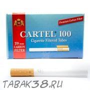 Гильзы сигаретные CARTEL CARBON 100 шт