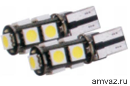 Светодиодная лампа CANBUS-T10-5009