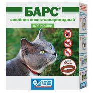 Барс Ошейник инсектоакарицидный для кошек (35 см)