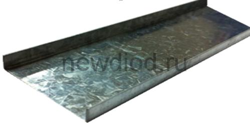 Профиль алюминиевый 38*8*0.8mm (внутренний) (1 хлыcт 3 метра)