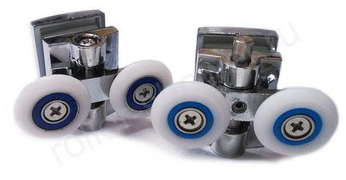Ролик для душевой кабины VH020 (комплект 8шт)  Диаметр колеса (от 18,6 до 28мм)