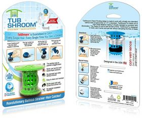 Прибор от засорений труб TubShroom