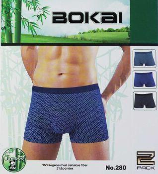 "Мужские трусы боксеры  ""BOKAI"" № B280"