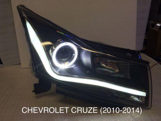 Передние фары YAA-KLZ-0164 CHEVROLET CRUZE  2010-2014 комплект