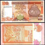 Шри-Ланка 100 Рупий 2005 г. UNC, пресс
